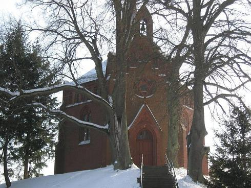 kościół w starym osiecznie
