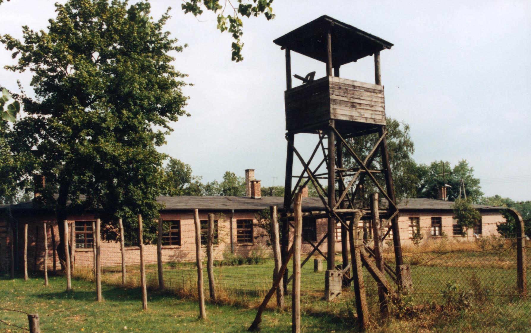 budynki i muzeum obozu