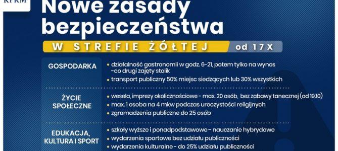 Komunikat Burmistrza Dobiegniewa z dnia 05.11.2020