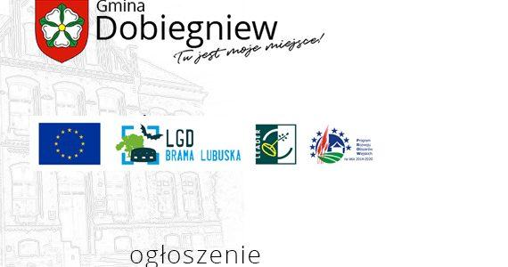 Ogłoszenie o naborze wniosków nr 1/2021 STOWARZYSZENIE LGD BRAMA LUBUSKA